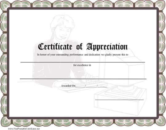 army award certificate templates .