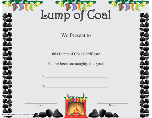 christmas gift certificate template free .