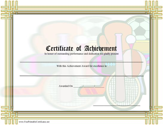 Similiar Printable Sports Certificates And Awards Keywords – Sports Certificate Templates