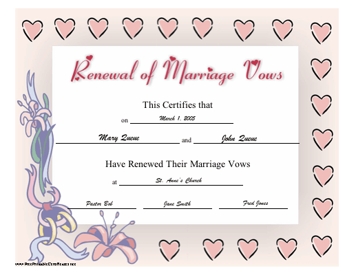 pre marriage counseling certificate template .