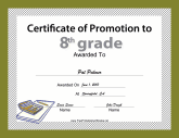Scholarship certificates free printable certificates for 6th grade graduation certificate template