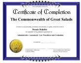 printable word certificate completion templates .
