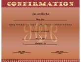 Editable baptism certificate template party invitations for Free catholic confirmation certificate template